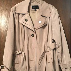 Plus size raincoat